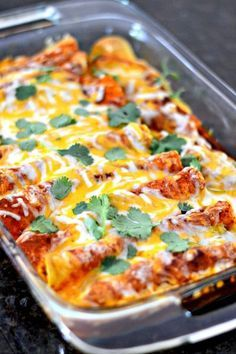 I have a chicken enchilada recipe for you that will change your life for the better. Say goodbye to canned enchilada sauce and get ready to experience a whole new level of taste and authentic flavor w