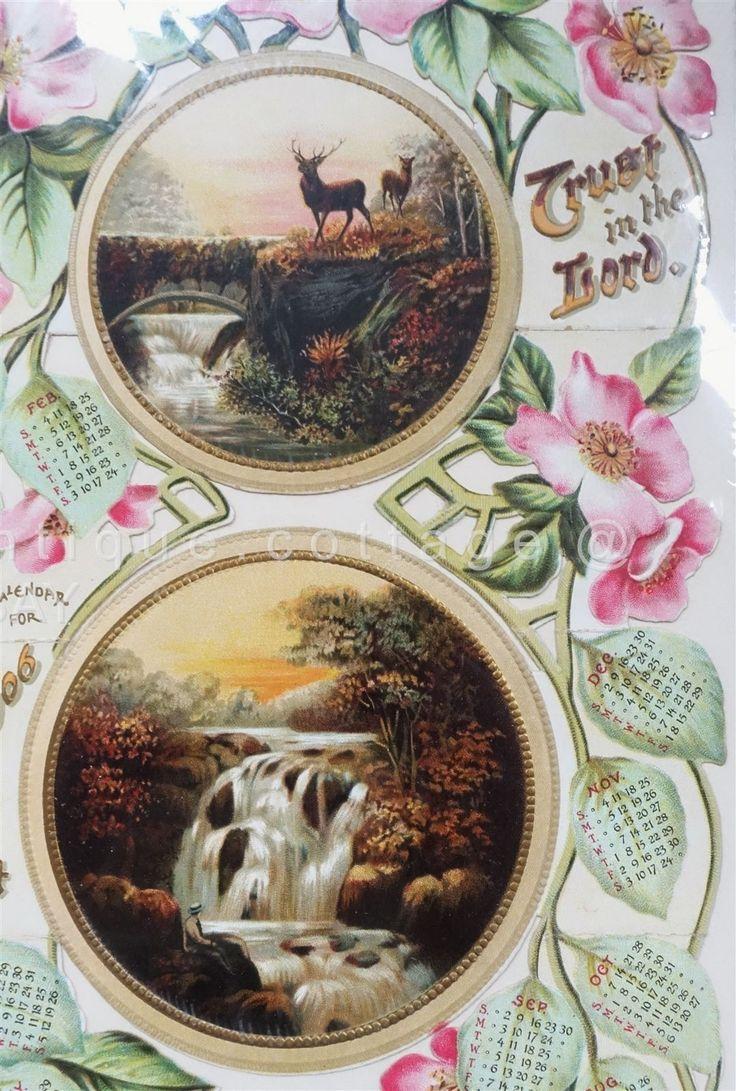 1906 Calendar Card.