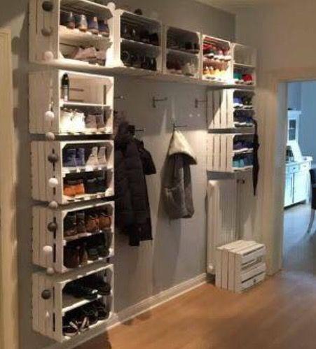 Garderobe und Schuh