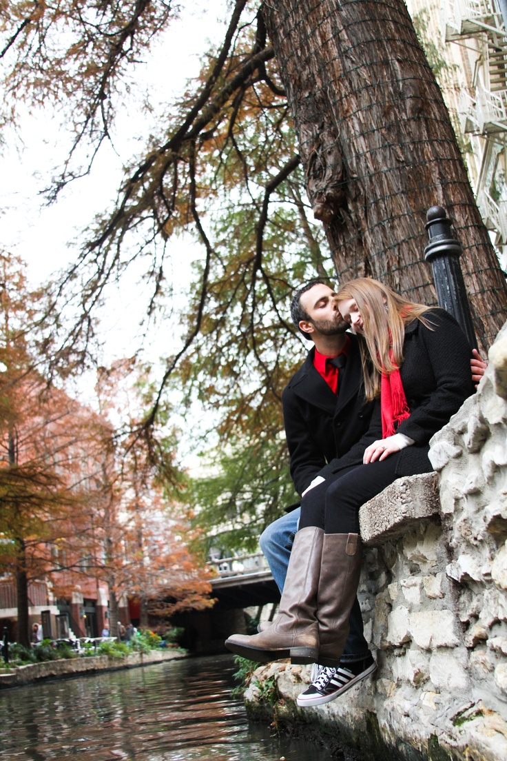 One of my favorites from our engagement shoot.  The Photography Shoppe in Austin, TX - they met us at the Riverwalk in San Antonio