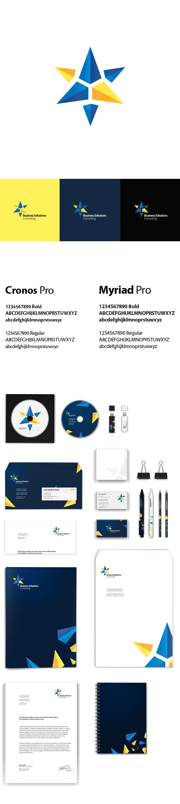 Business Solutions on Behance | #stationary #corporate #design #corporatedesign #identity #branding #marketing < repinned by www.BlickeDeeler.de | Take a look at www.LogoGestaltung-Hamburg.de