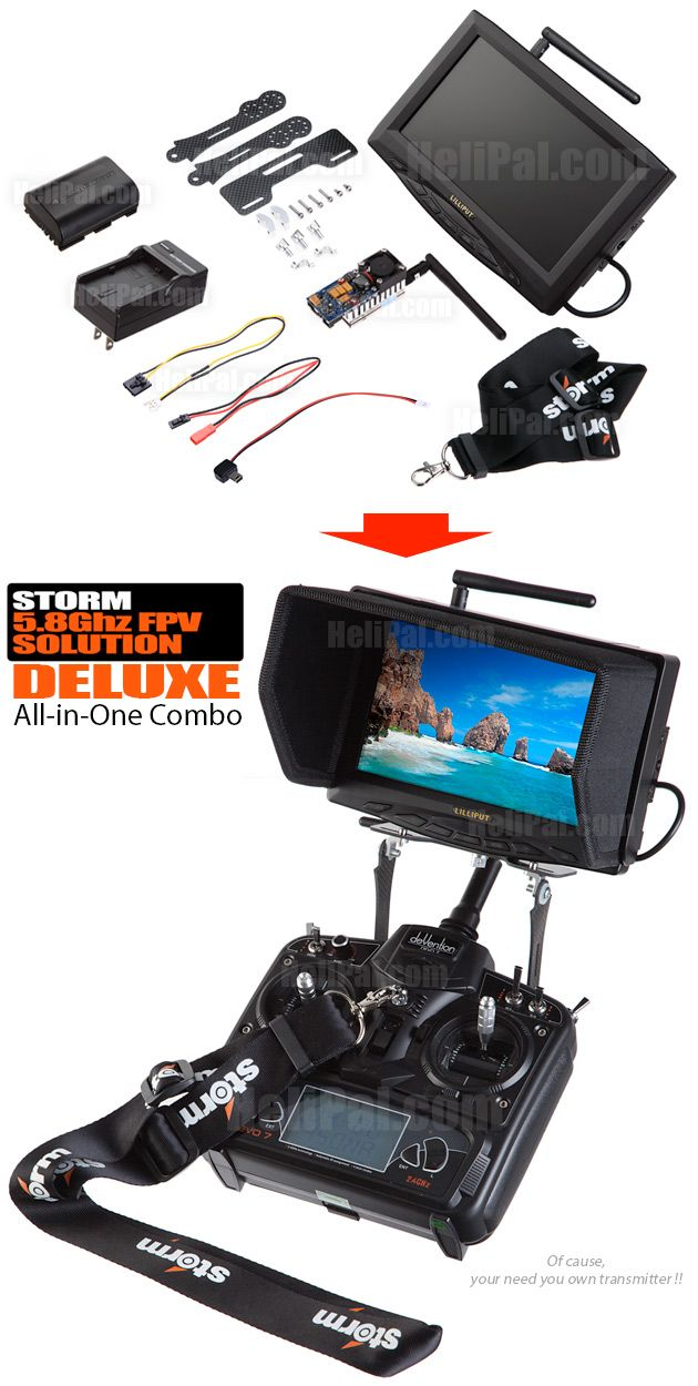 Storm All-in-One FPV Combo (Deluxe) - Pack-055