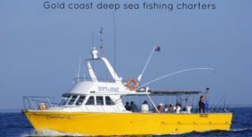 Danesa K, deep sea fishing charters Gold coast