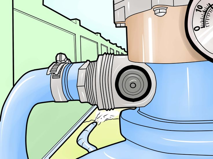 How to Change the Sand in a Pool Filter -- via wikiHow.com