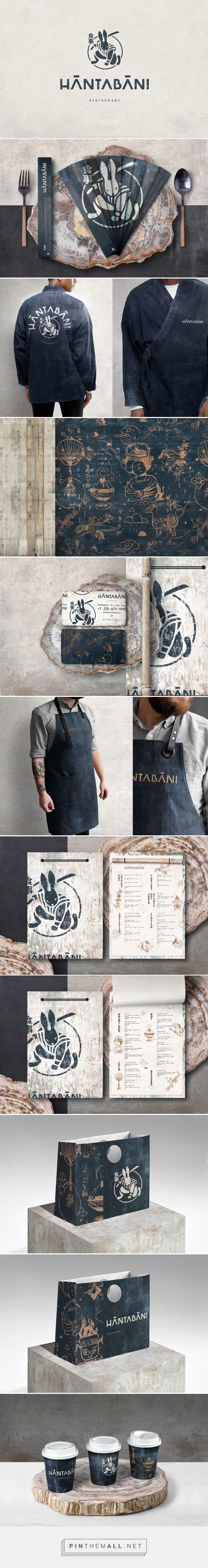 Hantabani Japanese Restaurant Branding and Menu Design by No Name Branding