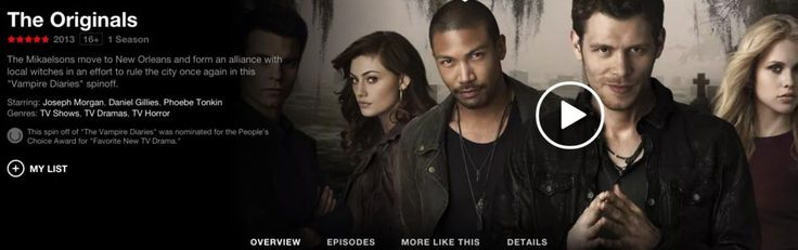 If you're more into supernatural dramas, you should check out The Originals. | For All The New Netflix Users Out There, Here Are Some Shows You Should Binge Right Away