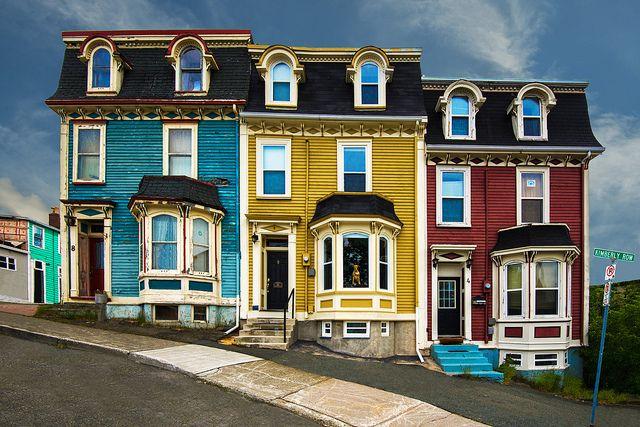 Kimberly Row Houses, St. John's Newfoundland