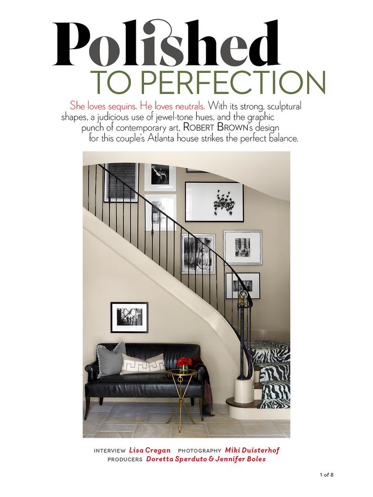 Robert Brown Interior Design Is Featured In The October 2014 Issue Of House Beautiful Magazine