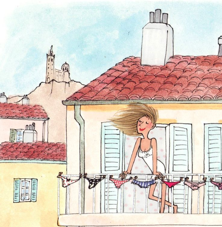 « A Marseille, on y sent je ne sais quoi d'oriental, on y marche à l'aise, on respire content. » Gustave Flaubert / My little Marseille