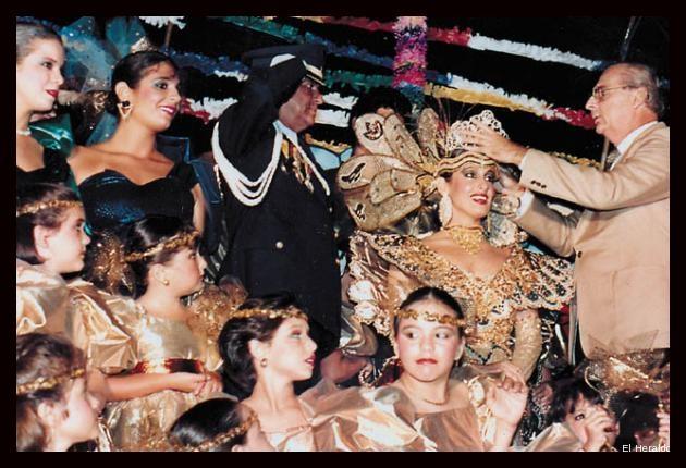 en 1986 fue reina del carnaval de Barranquilla