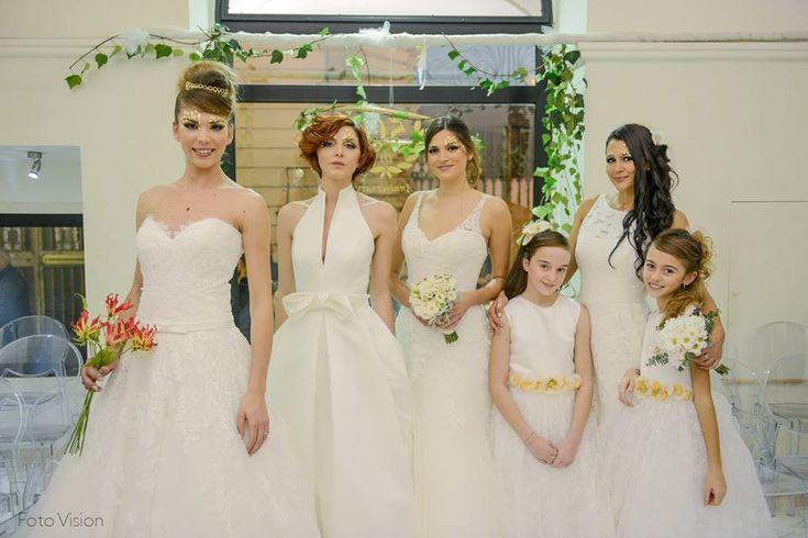 sfilata abiti sposa 2016 Lecce Atelier Casa della Sposa Lecce