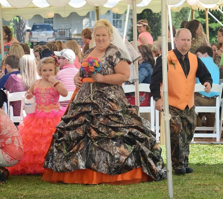 Mama June Wedding Gown