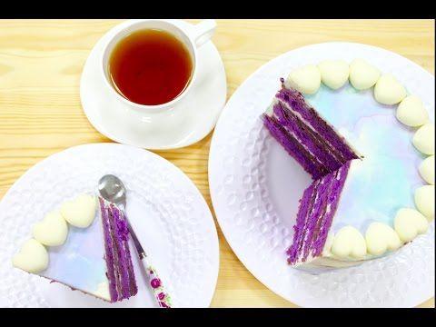 Лавандовый Бисквитный Торт / Конкурс от Luminarc / Lavender Sponge Cake - YouTube
