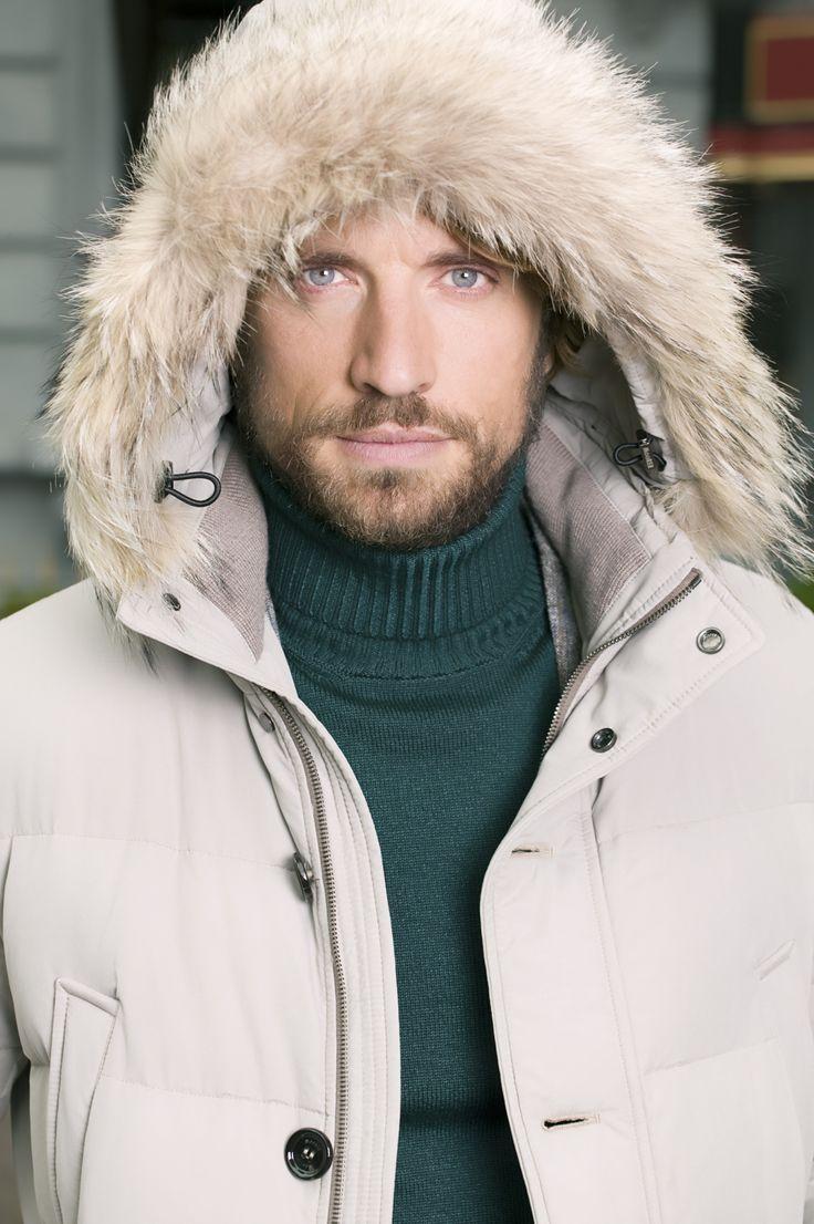Richard in winter parka by Senso