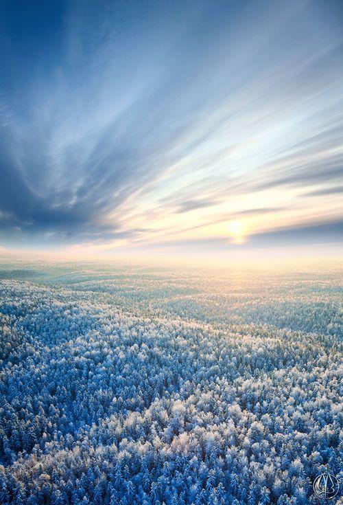 """""""Frosty sunset"""" by Vladimir Melnikov"""
