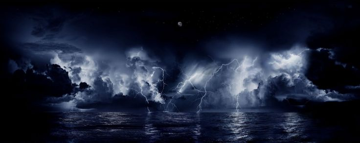 Record-breaking continuous lightning at the mouth of the Catatumbo River, Venezuela. (Wikimedia Commons)