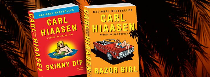 Enter the Carl Hiaasen Sweepstakes for the chance to win two of the author's bestselling novels!