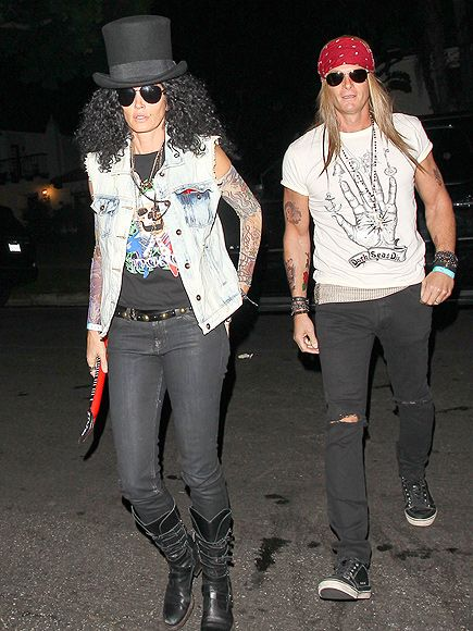 CINDY CRAWFORD photo | Cindy Crawford I so thought this was slash and axl lol