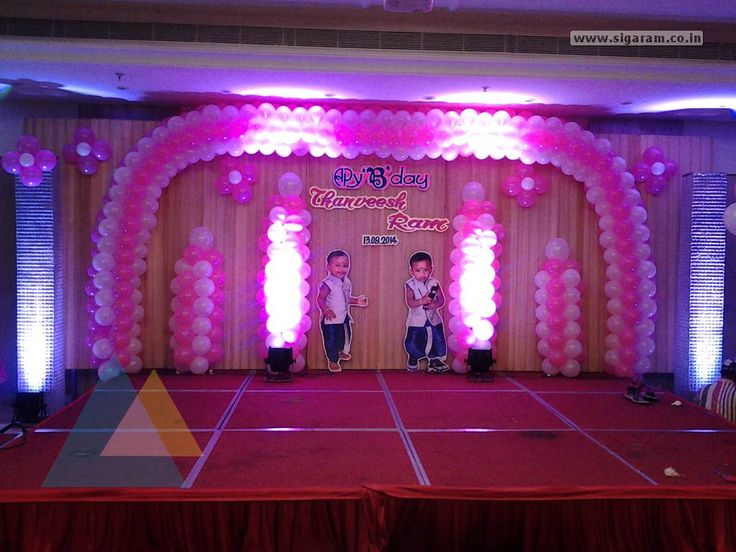 Birthday Party Decoration done at Hotel Bon Sejour