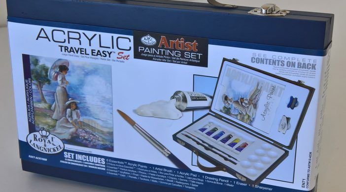 Acrylic Travel Easy Artist Painting Set
