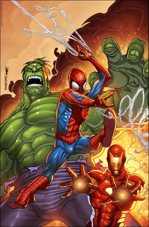 17 best images about spider man on pinterest nu 39 est jr - Spiderman ironman and hulk ...