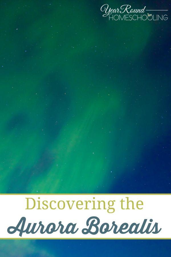 Aurora Borealis, stars, astronomy, science, homeschool, homeschooling