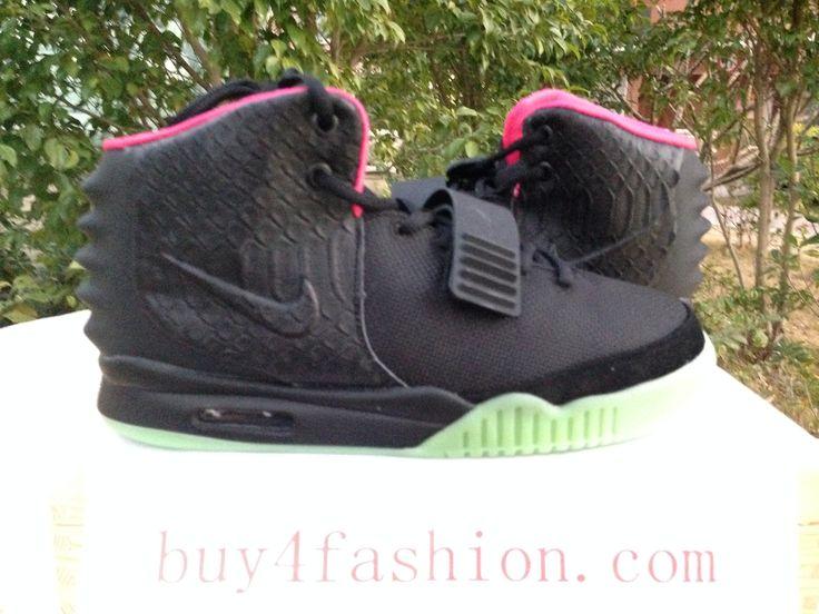 2015 Online Sale Nike Yeezy 2 Cheap sale Black Green Lime 508214