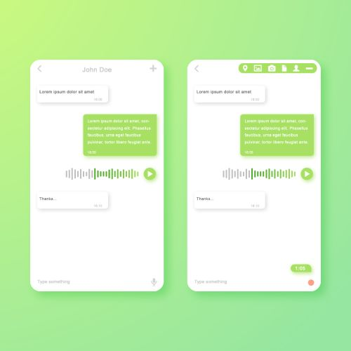 Chat Mobile UI