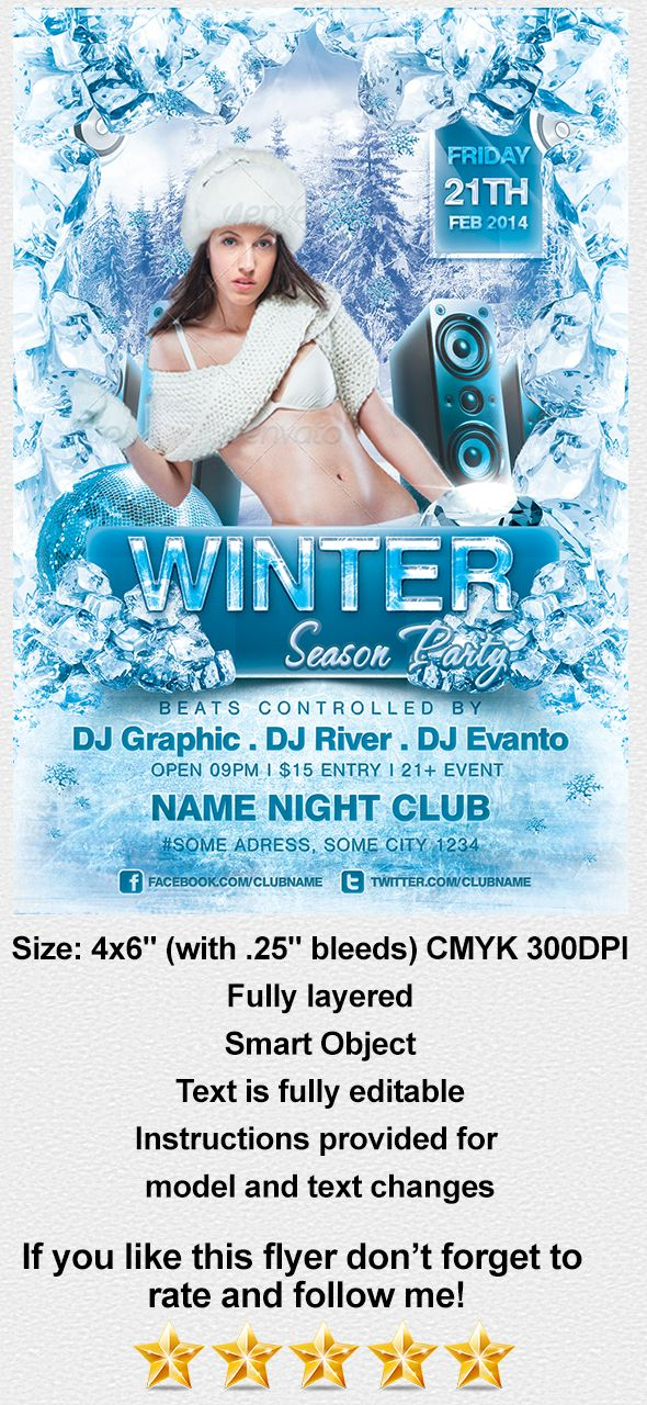 Buy this flyer exclusively from here: http://graphicriver.net/item/winter-season-party/6828078?WT.ac=portfolio&WT.seg_1=portfolio&WT.z_author=ionutbratu