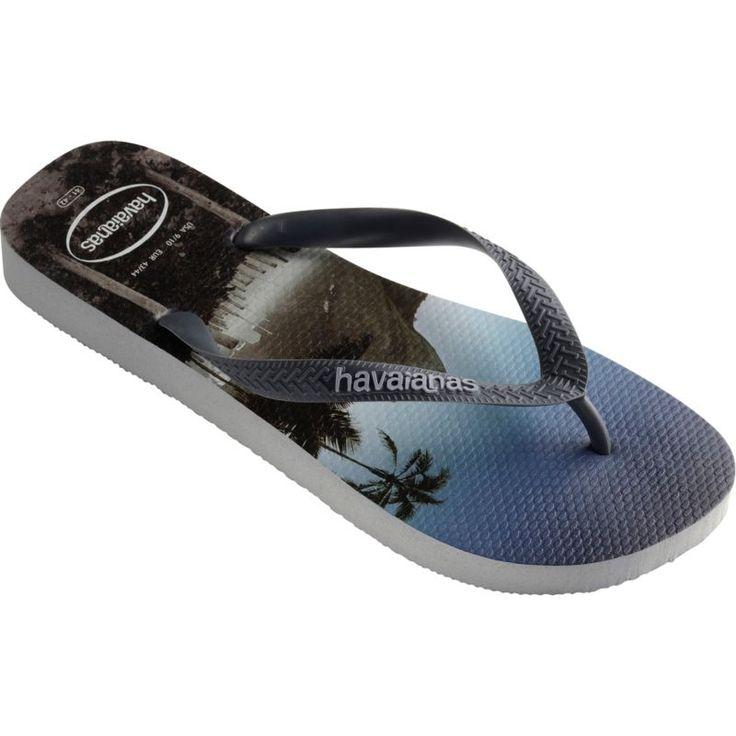 Havaianas Men's Hype Flip Flops, Gray