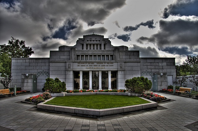 Cardston Temple by fersuvious, via Flickr