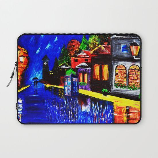 Tardis Phone Both Starry Night - $36