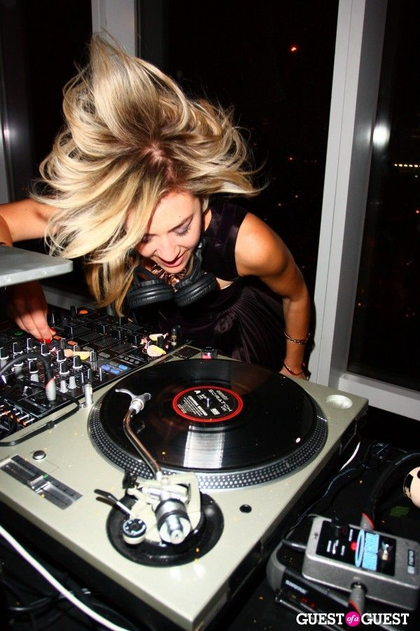 DJ Mia Moretti - curator for this week's theme #attitude