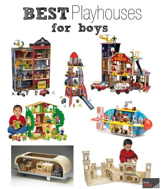 Best Playhouses for Boys #dollhouse #toys