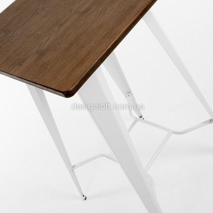 Стол MALIBU (Белый, 60x60 см) | интернет-магазин DesignLoft | Киев, Харьков