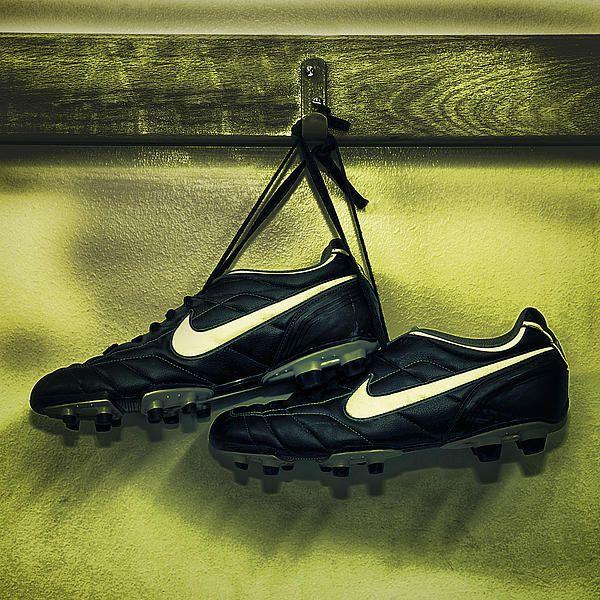 Football Boots Hung Up