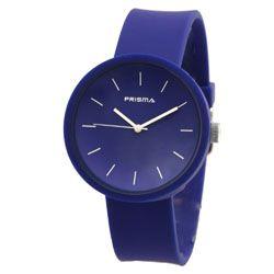 Prisma horloge 33C011904 Design Donkerblauw