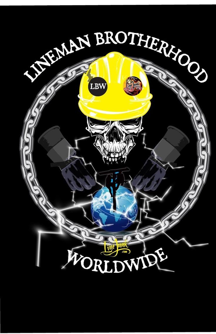 pin love my lineman tattoo style heart decal on pinterest