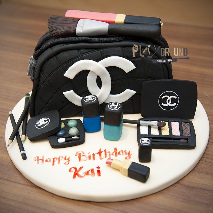1000+ Ideas About Makeup Birthday Cakes On Pinterest