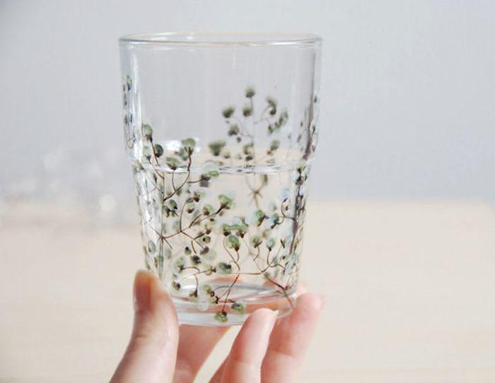 a budding glass