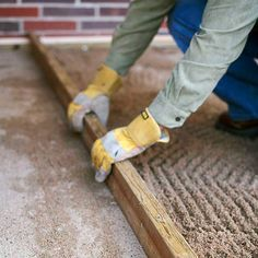DIY Build a Paver Patio: 6-Do a Little Shimmy