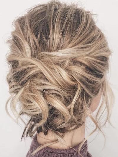 Geflochtene Hochsteckfrisur – Wedding Hair – Haar …