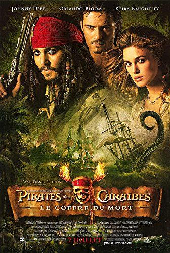 Pirates of the Caribbean: Dead Mans Chest - Authentic Original 27 x 40 Movie Poster @ niftywarehouse.com #NiftyWarehouse #PiratesOfTheCarribbean #Pirates #Movies #Pirate