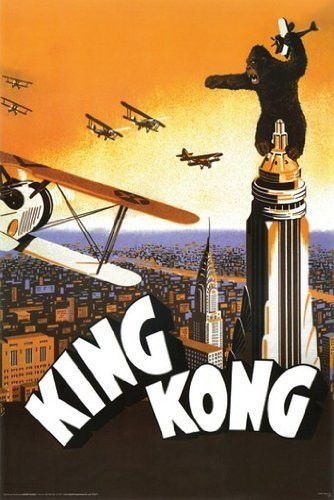 KING KONG MOVIE POSTER Rare Hot New 24x36