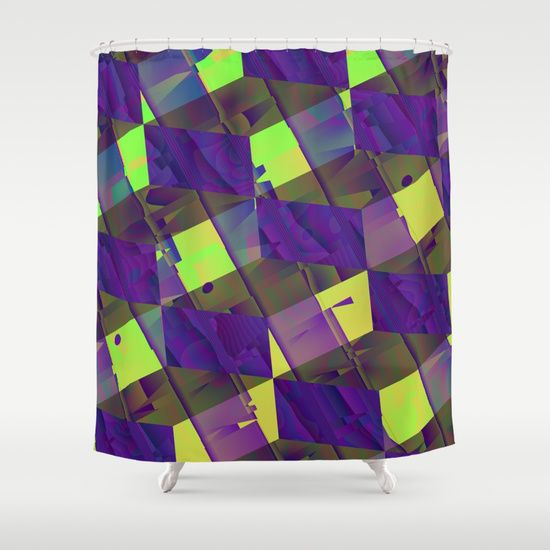 Abstract Views Shower Curtain Pictures