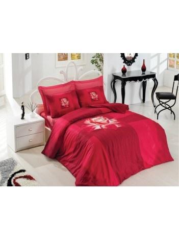 Çift Kişilik Nevresim Takımı Gülben ( Kırmızı ) 109.90 TL