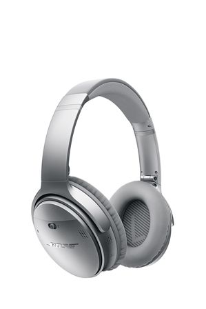 Bose   QuietComfort QC35 Noise Cancelling Wireless Headphones - Silver   Myer Online