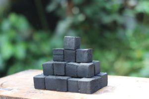 coconut shell charcoal briquette