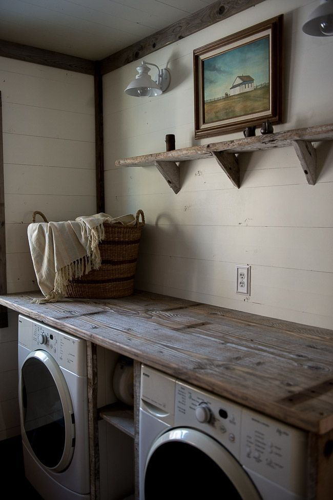 23 Rustic Farmhouse Decor Ideas Laundry RoomsRustic DecorRustic KitchensRustic Living Room