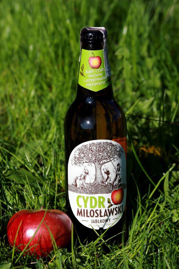 Cydr Miłosławski i jabłko. #jedzjablka